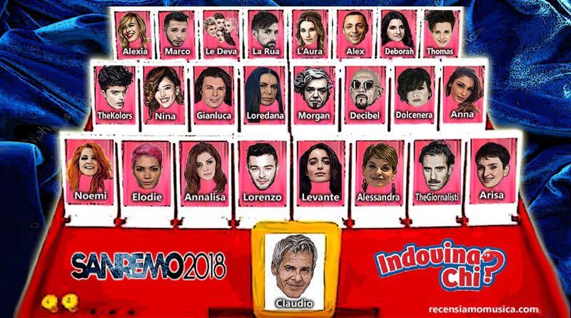 Sanremo 2018: I Big In Tempo Reale (cast In Continuo Aggiornamento