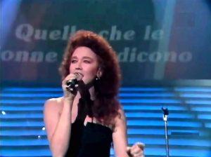 Sanremo 1987 - Fiorella Mannoia