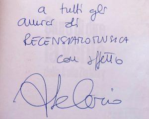 Autografo Scanu