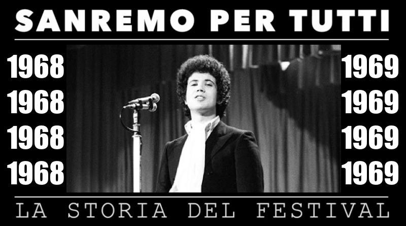 Sanremo per tutti - La storia del Festival 1968 - 1969