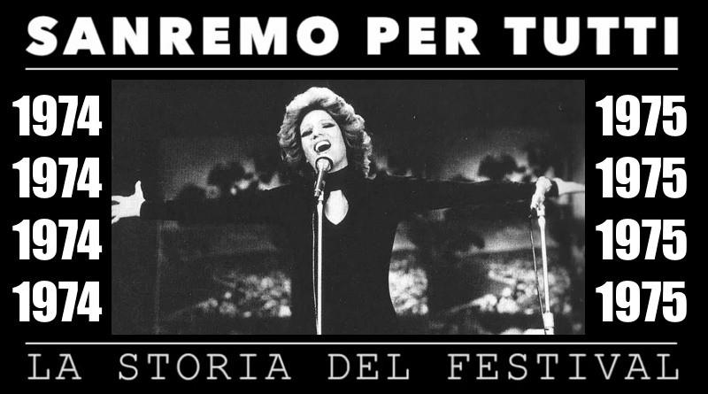 Sanremo per tutti, la storia del Festival | 1974 – 1975