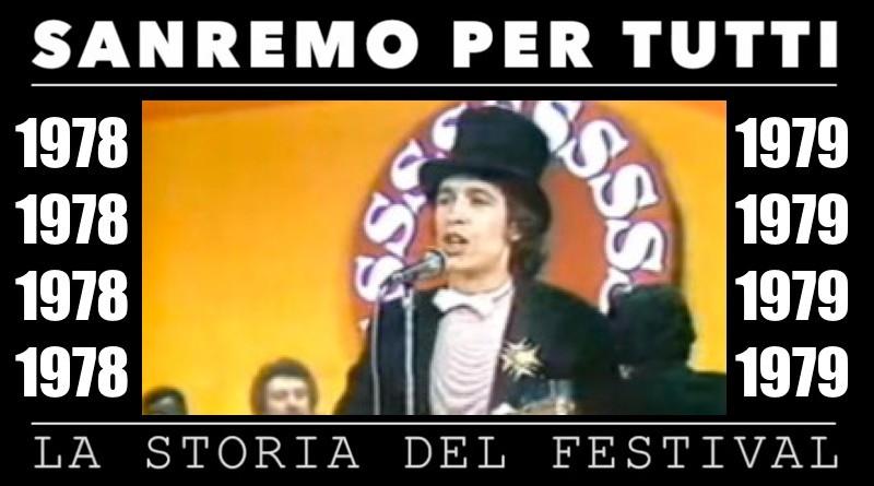 Sanremo per tutti, la storia del Festival | 1978 – 1979