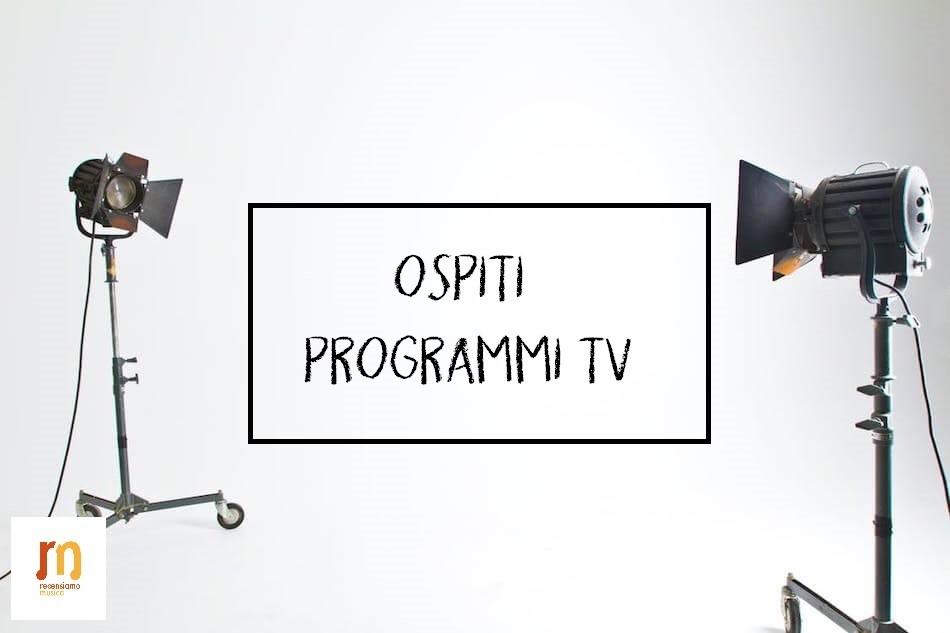 Ospiti TV sabato
