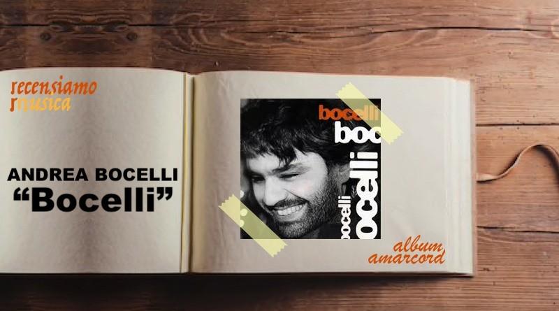 Album Amarcord Andrea Bocelli - Bocelli