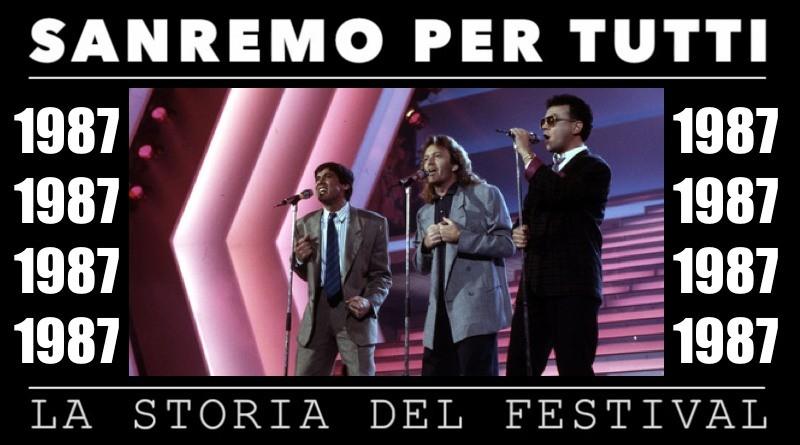 Sanremo per tutti - La storia del Festival 1987