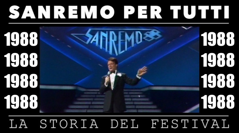 Sanremo per tutti - La storia del Festival 1988