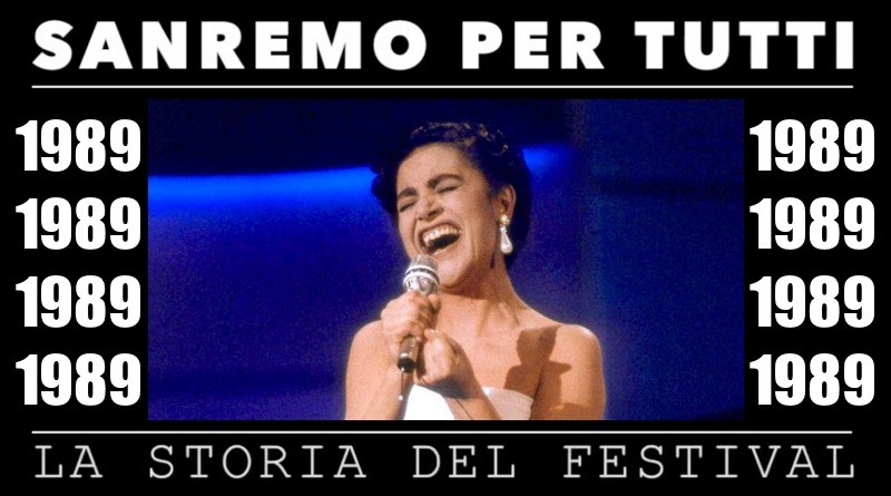 Sanremo per tutti - La storia del Festival 1989