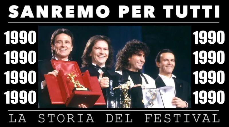 Sanremo per tutti - La storia del Festival 1990