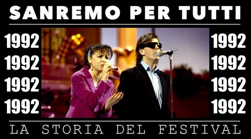 Sanremo per tutti - La storia del Festival 1992
