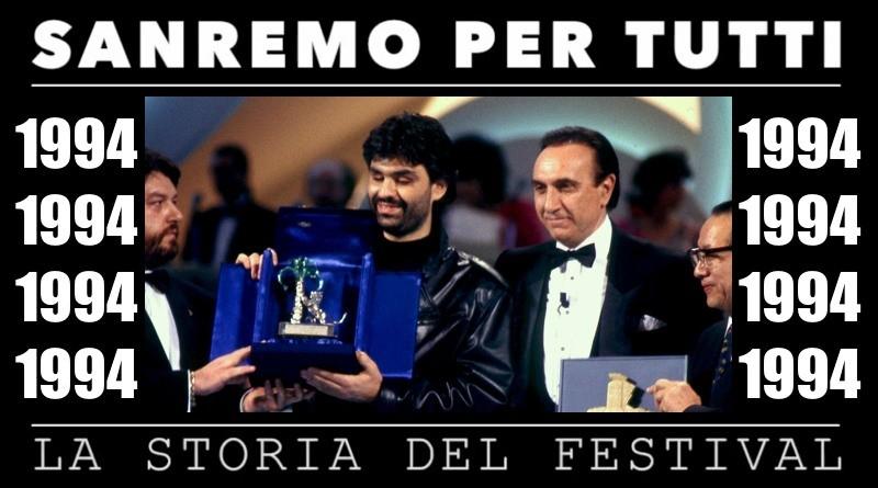 Sanremo per tutti - La storia del Festival 1994