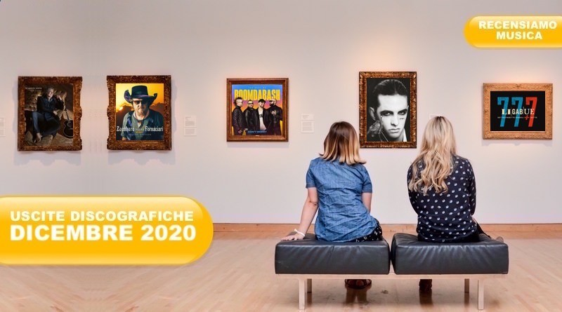 USCITE DISCOGRAFICHE Dicembre 2020