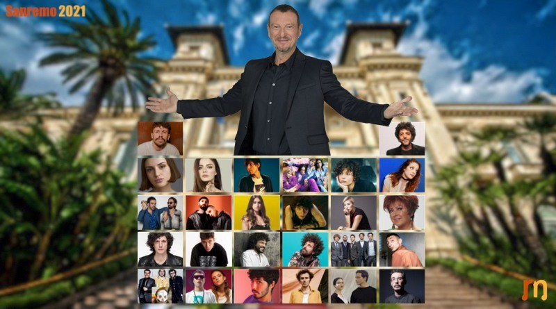Sanremo 2021 cast cantanti