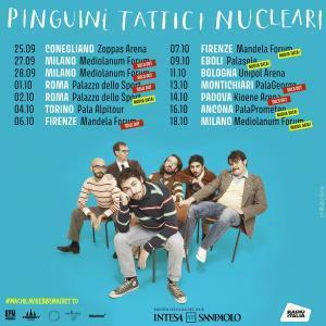 Pinguini Tattici Nucleari - Tour 2021