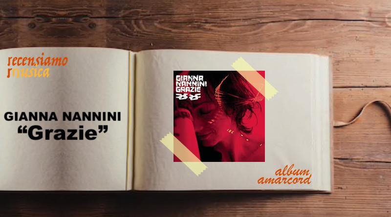 Album Amarcord Grazie di Gianna Nannini