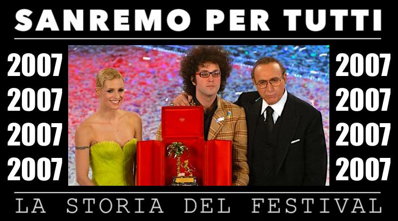 Sanremo per tutti - La storia del Festival 2007