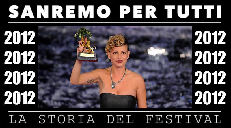 Sanremo per tutti - La storia del Festival 2012