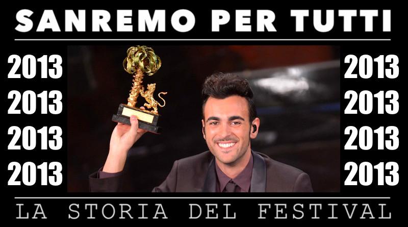 Sanremo per tutti - La storia del Festival 2013