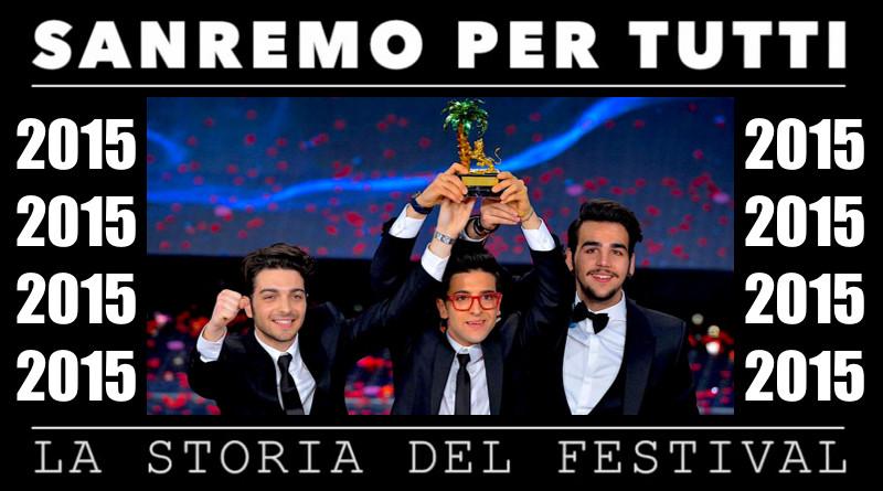 Sanremo per tutti - La storia del Festival 2015.