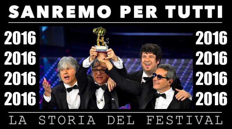 Sanremo per tutti - La storia del Festival 2016 |recensiamomusica.com