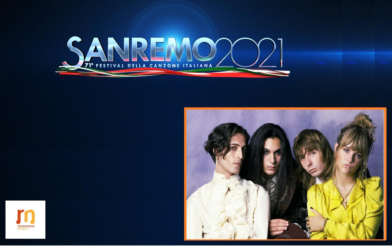 Maneskin - Sanremo 2021