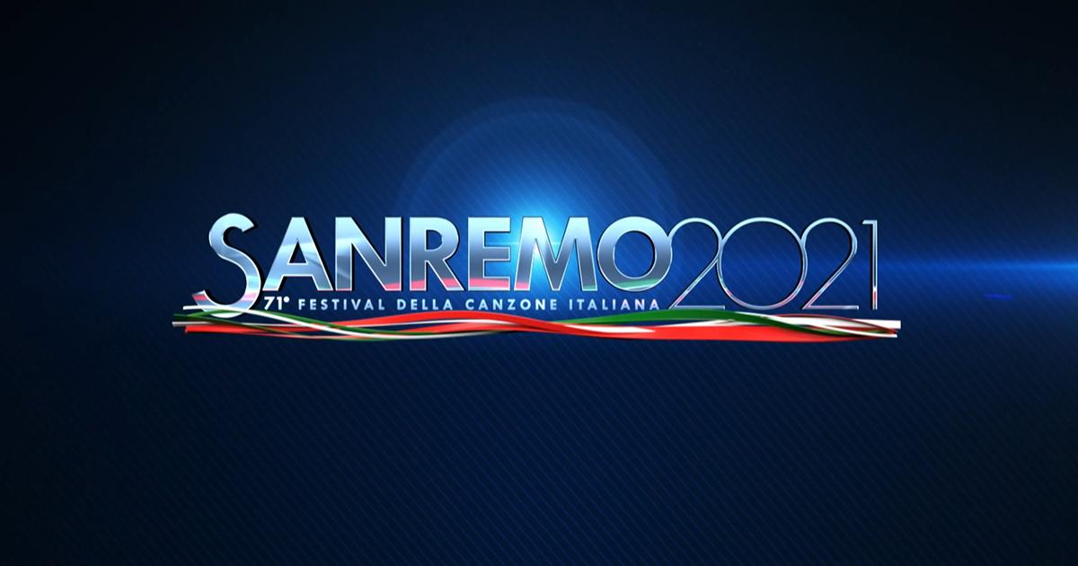 Sanremo 2021 logo |recensiamomusica.com