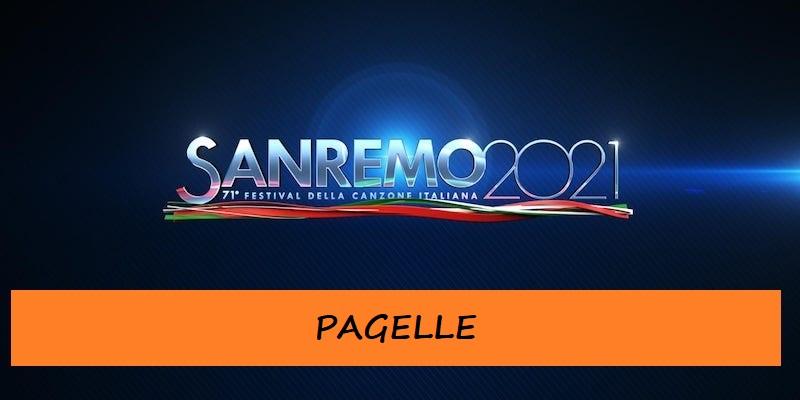Sanremo 2021 - Pagelle