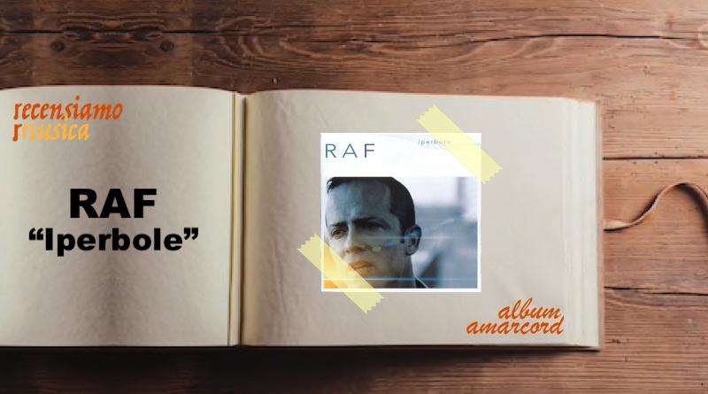 Album Amarcord Iperbole Raf
