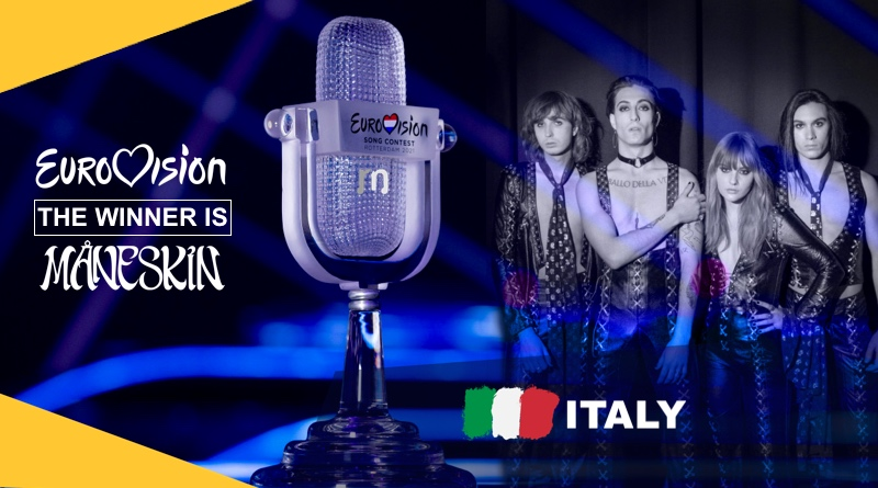 Maneskin Eurovision Song Contest Italy