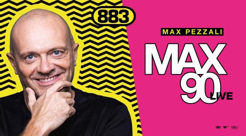 Max Pezzali Max 90 live
