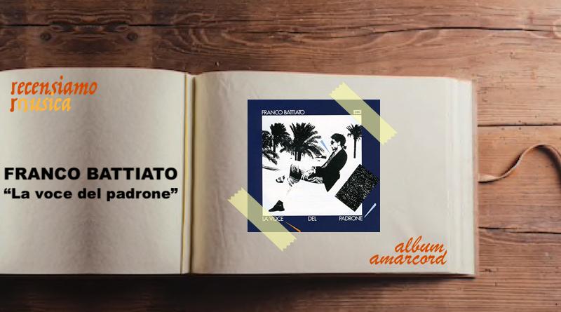 Album Amarcord La voce del padrone Franco Battiato