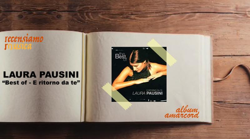 Album Amarcord Best of Laura Pausini